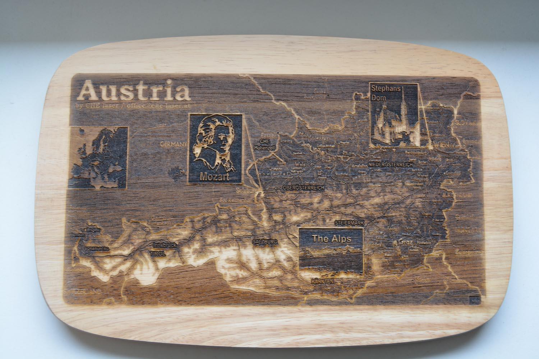 Austria Jausenbrett