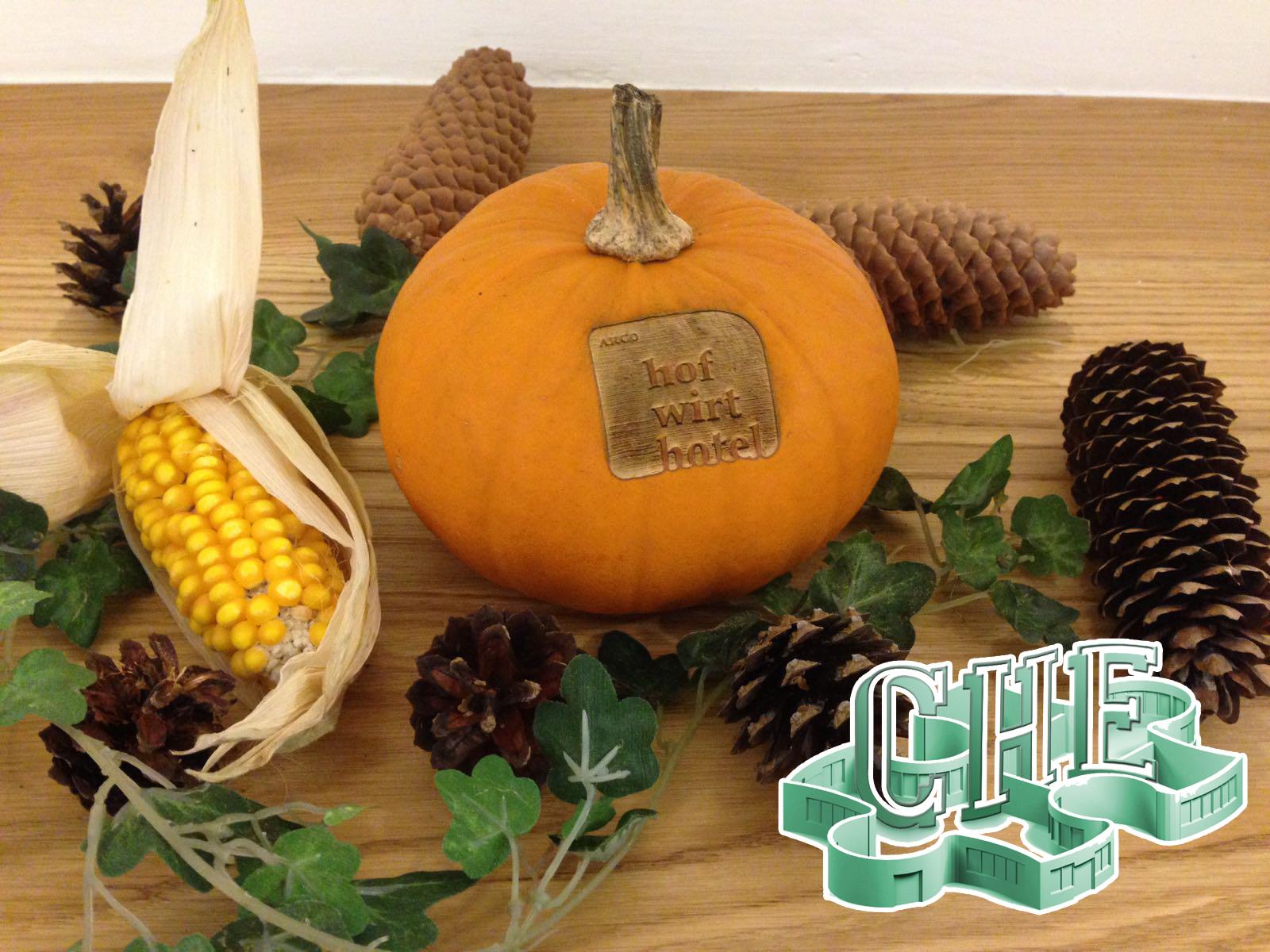 Werbe Deko für den Herbst